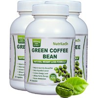 Nutrileon Green Coffee Bean Pure Extract 800mg 60 Capsules (Pack Of 3)
