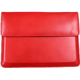 Callmate Leather Sleeve For Ipad Mini 2 With Free Screen Guard- Red