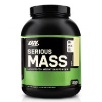 Optimum Nutrition Serious Mass - 6 Lbs (Strawberry)