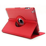 Callmate 360 Rotating Case Cover For Ipad Mini 2 With Free Screen Guard - Red
