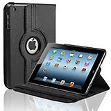 Callmate 360 Rotating Case Cover For Ipad Mini 2 With Free Screen Guard - Black