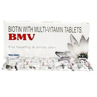 BMV Biotin Hair, Skin  Nails 30 Tablets