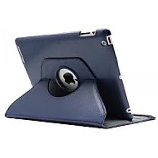 Callmate 360 Rotating Case Cover For Ipad Mini 2 With Free Screen Guard - Dark Blue