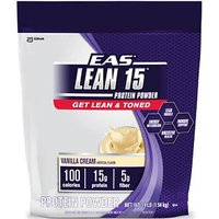 EAS Lean 15 Protein Powder - Vanilla Cream - 3.4 Lbs With Free Shaker - 2168378