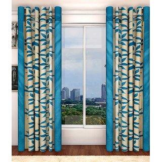 Akash Ganga Kolaweri Design Door Curtain 8 feet(Set of 2)