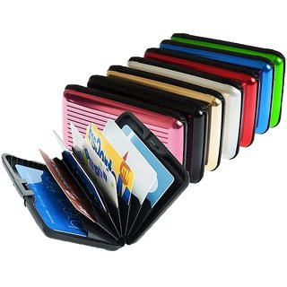 Credit Card Holder Alluma Wallet Men  Women Cash/Credit Card Holder