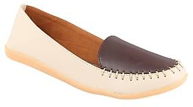 Exotique Beige Casual Shoe