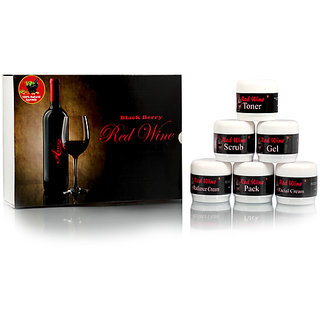 Adidev Herbals Red Wine Facial Kit