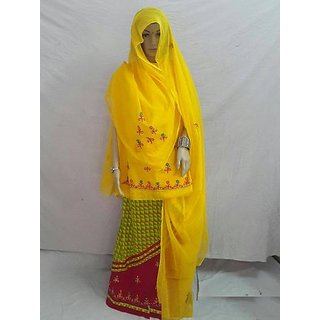 Designer Cotton Rajputi Saree