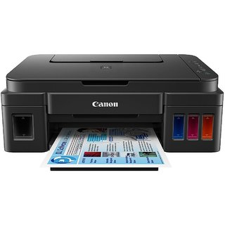 Canon Pixma Inkjet Tank G3000 All In One Multifuntion Printer