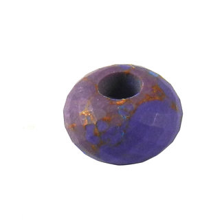 Shilpi Impex Purple Mohave Turquoise Syenthetic Gem Stone Beads