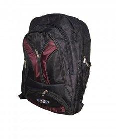 Apnav Black-Wine Laptop Backpack/College Bag