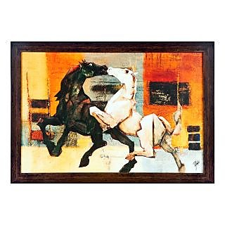 Decors Framed Reprint modern Wall Art Painting