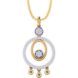 3e6c68f620858b Pooja Sonam 925 Silver CZ Diamond Pendant