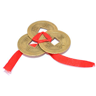 Feng Shui 3 Wealth Coins