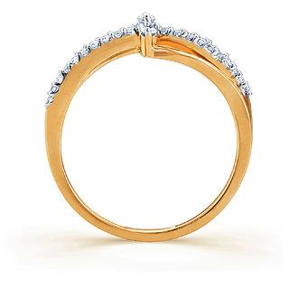 Karatcraft.In Linius Diamond Gold Ring.
