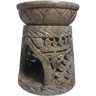 Avinash Handicrafts Stone Aroma Diffuser (Cone Shape) 10 cm