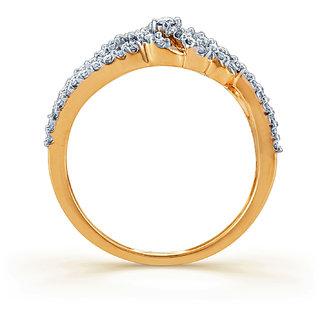 Karatcraft.In Vezza Diamond Gold Ring.