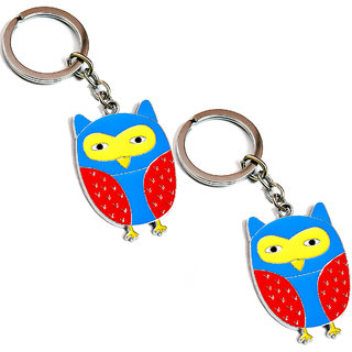 Owl Key Ring - Set of 2 pcs