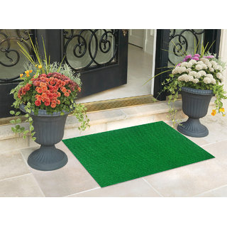 Status Nano Green Waterproof Washable Rubber Door Mats -15 X 23inch (Set of 1)