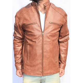 Brown Leather Men Jackets