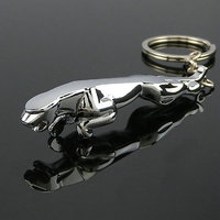 Jaguar Keychain Metallic