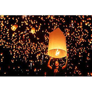 Indian Sky lanterns pack of 50