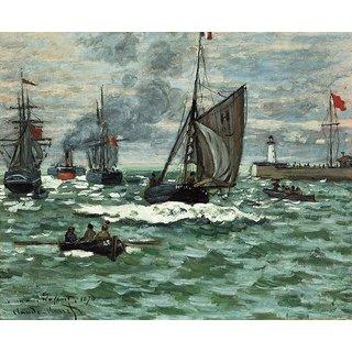 Vitalwalls Landscape Painting Canvas Art Print Landscape-457-30Cm