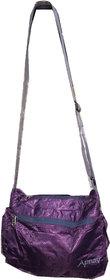 Apnav Purple Foldable Sling Bag