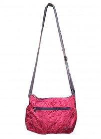 Apnav Red Foldable Sling Bag