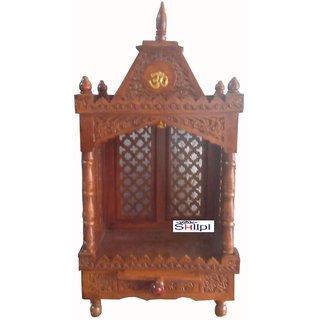 shilpi wooden temple/ mandir/puja ghar