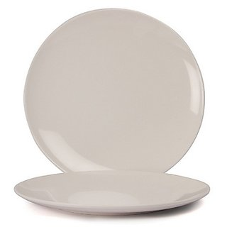 Superware(Ektra) White Melamine Plates - Set of 2 - 8 Inches  sc 1 st  Shopclues : white melamine plates - pezcame.com