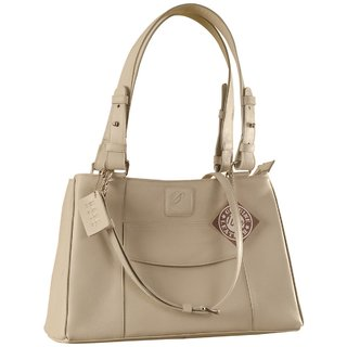 Dark, tall  handsome, Maya Collection YA824v1 by eZeeBags ladies leather handbag - stands tall in style  function.