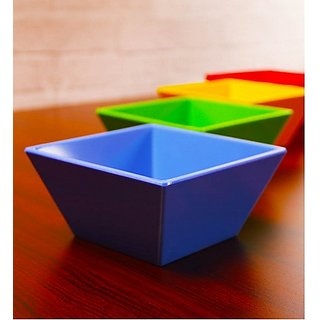 Superware(Ektra) Square 600 ML Bowl - Set of 4