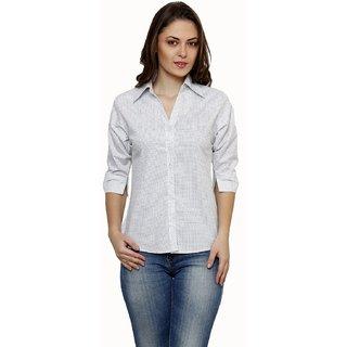 Ritzzy White Star Print Shirt