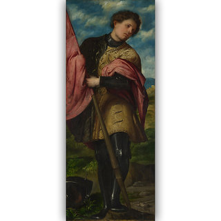 Vitalwalls Landscape Painting Canvas Art Print Religion-137-60Cm