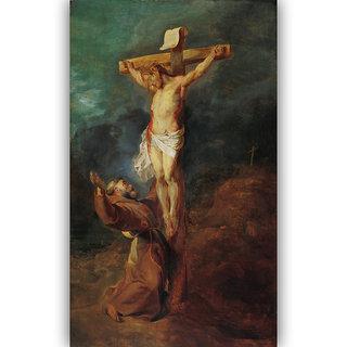 Vitalwalls Landscape Canvas Art Print Religion-180-45Cm