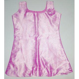 Handmade Frock - Lavender Pink