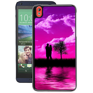 Instyler Digital Printed Back Cover For Htc 820 HTC820DS-10103