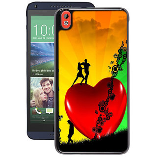 Instyler Digital Printed Back Cover For Htc 820 HTC820DS-10108