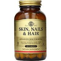 Solgar Skin Nails And Hair Advanced Msm Formula - 120 Tablets