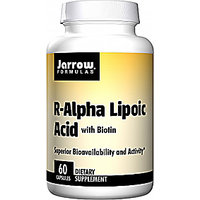 Jarrow Formulas R-Alpha Lipoic Acid With Biotin - 60 Capsules