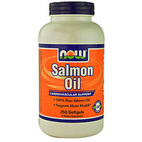 Now Foods Salmon Oil - 250 Softgels