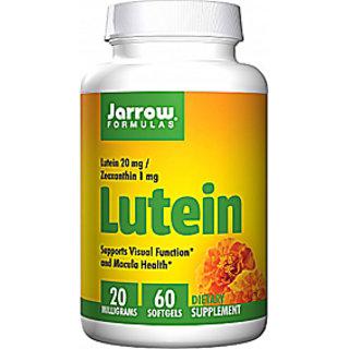 Jarrow Formulas Lutein 20 mg Supplement (60 Softgels)