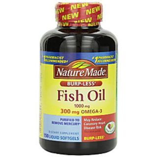 Nature Made Fish Oil Burp-Less 1000 Mg - 150 Liquid Softgels