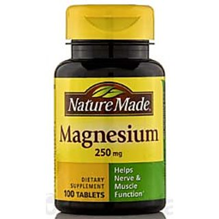 Nature Made Magnesium 250 Mg - 100 Tablets