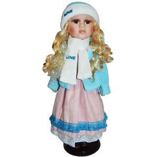 Bird In Blue Jane Doll