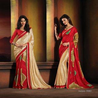 Manvaa Propinquity Multicolour Jacquard Heavy Border SareeSSFSN20004