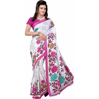 Manvaa Propinquity Multicolor Georgette Designer Printed SareePMYR5051