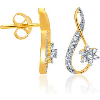 Karatcraft.In Marita 18Kt Gold Earrings.